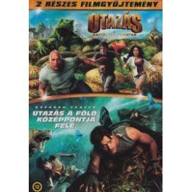Utazás a rejtélyes szigetre / Utazás a Föld középpontja felé (2 DVD) Twinpack