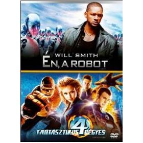 Én, a robot / A fantasztikus négyes (2 DVD)