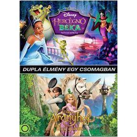 Aranyhaj és a nagygubbanc / A hercegnő és a béka (2 DVD)