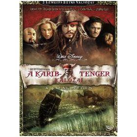 A Karib-tenger kalózai 3. - A világ végén (2 DVD)
