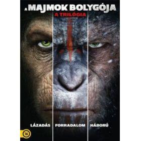 A majmok bolygója - a trilógia (3 DVD)