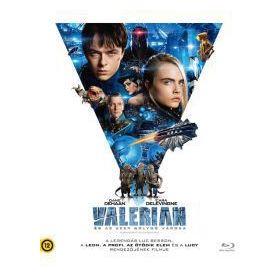 Valerian és az ezer bolygó városa (Blu-ray)