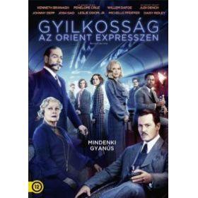 Gyilkosság az Orient Expresszen (2017) (DVD)