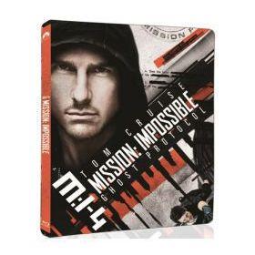 Mission Impossible 4. - Fantom protokoll (UHD+Blu-ray )- limitált, fémdobozos változat (steelbook)