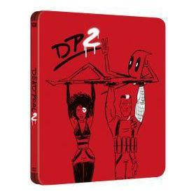 Deadpool 2. (mozi- és bővített változat) - limitált, fémdobozos változat (2 Blu-ray steelbook)