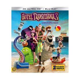 Hotel Transylvania 3. - Szörnyen rémes vakáció (4K UHD + BD)