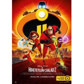 A hihetetlen család 2.  (DVD)