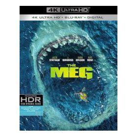 Meg- Az Őscápa (4K UHD + Blu-ray)
