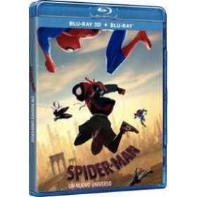 Pókember - Irány a Pókverzum (3D Blu-ray+BD) *Marvel*