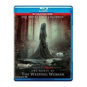 A gyászoló asszony átka (Blu-ray)