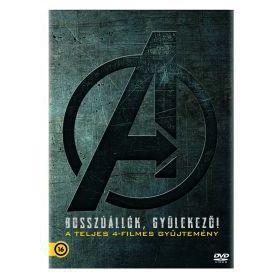 Bosszúállók gyűjtemény 1-4. (4 DVD)