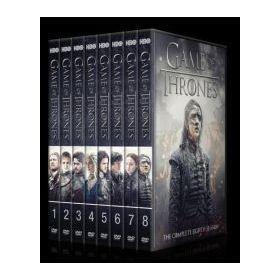 Trónok harca 1-8. évad (30 DVD)