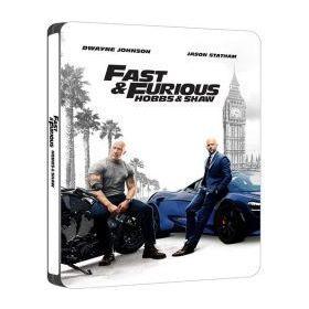 Halálos iramban: Hobbs és Shaw (4K UHD+Blu-ray) - limitált, fémdobozos változat (steelbook)