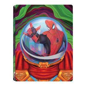 Pókember: Idegenben (4K UHD+3D Blu-ray+BD) - limitált, fémdobozos változat ( Mysterio steelbook)