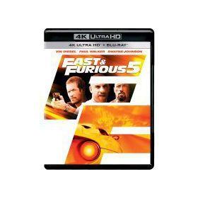 Halálos iramban: Ötödik sebesség (4K UHD+Blu-ray)