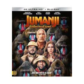 Jumanji - A következő szint (4K UHD + Blu-ray)