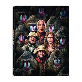 Jumanji - A következő szint  (Blu-ray) - limitált, fémdobozos változat (