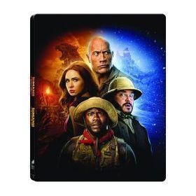 Jumanji 1-2. (2 Blu-ray) -  limitált, fémdobozos változat (steelbook)