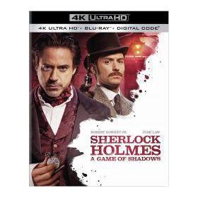 Sherlock Holmes 2. - Árnyjáték (4K UHD+Blu-ray)