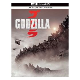 Godzilla (2014) (4K UHD + Blu-ray) - limitált, fémdobozos változat (steelbook)