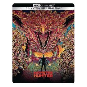 Monster Hunter – Szörnybirodalom (4K UHD + Blu-ray) - limitált, fémdobozos változat (steelbook)