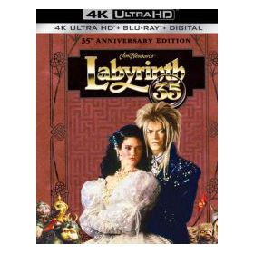 Fantasztikus labirintus - 35 éves jubileumi változat - digibook (4K UHD + Blu-ray)