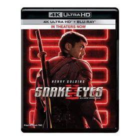 Kígyószem: G.I. Joe - A kezdetek (4K UHD + Blu-ray)