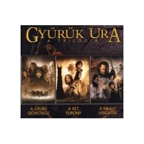 A Gyűrűk Ura trilógia (3 DVD)