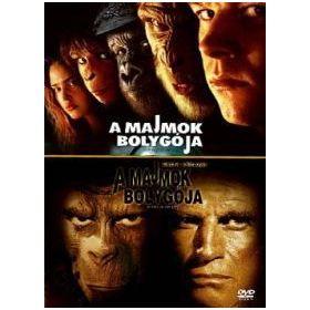 A majmok bolygója (1968) / A majmok bolygója (2001) (Twinpack) (2 DVD)