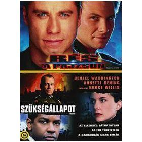 Rés a pajzson (szinkronizált változat) / Szükségállapot (szinkronizált változat) (2 DVD) (Twinpack)