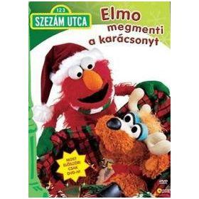 Szezám utca - Elmo megmenti a karácsonyt (DVD)