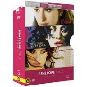Penélope Cruz díszdoboz (3 DVD) Elégia / Megtört ölelések / Manolete