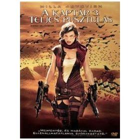 A Kaptár 3. - Teljes pusztulás (DVD)