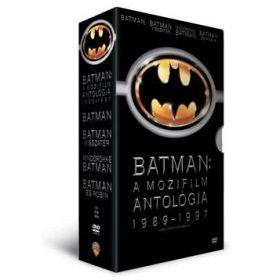 Batman: A mozifilm antológia 1989-1997 (8 DVD)