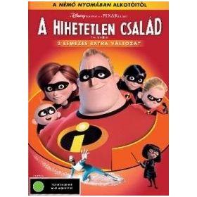 A Hihetetlen család (DVD)