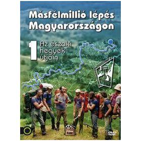 Másfélmillió lépés Magyarországon I. (DVD)