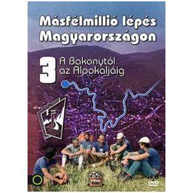 Másfélmillió lépés Magyarországon III. (DVD)