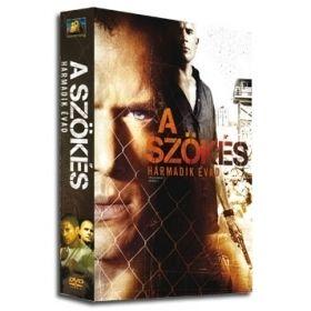 A szökés - 3.évad (3DVD)