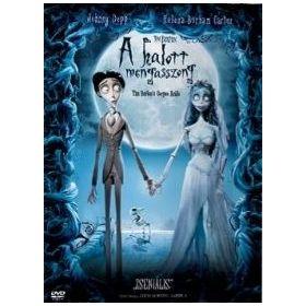 Tim Burton: A halott menyasszony (DVD)