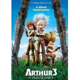 Arthur 3. - A világok harca (DVD)