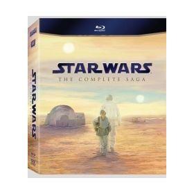 Star Wars Saga 1-6. (9 Blu-ray)