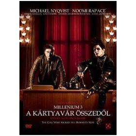 A kártyavár összedől (Millenium 3.) (DVD)