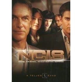 NCIS - Haditengerészeti helyszínelők - 1. évad (6 DVD)