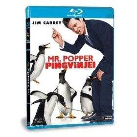Mr. Popper pingvinjei (Blu-ray)