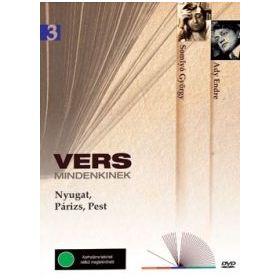 Vers mindenkinek 3. - Nyugat, Párizs, Pest (DVD)