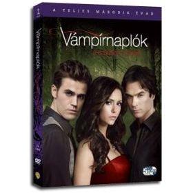 Vámpírnaplók - 2. évad (5 DVD)