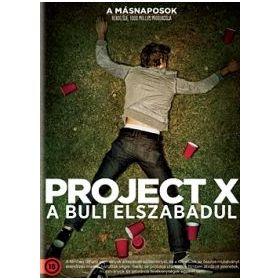 Project X - A buli elszabadul (DVD)