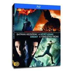 Christopher Nolan rendezői gyűjtemény (4 Blu-ray)