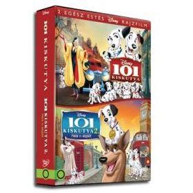 101 kiskutya 1-2. gyűjtemény (2 DVD)