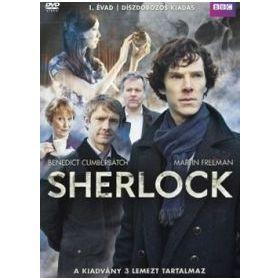 Sherlock: 1. évad (3 DVD)